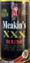 Meakins XXX Rum 750ml